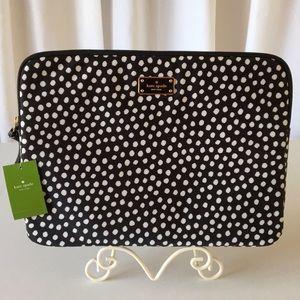 "Kate Spade Musical Dots 14"" Laptop Sleeve Case"